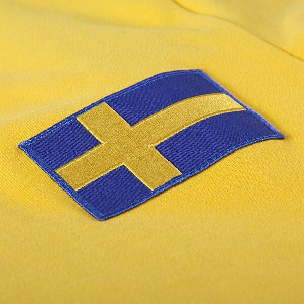 Zweden 1970's Retro Voetbalshirt 2