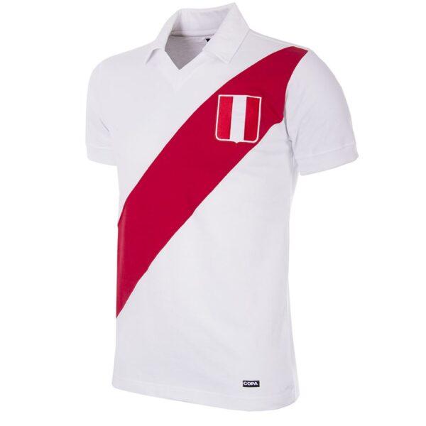 Peru 1970's Retro Voetbalshirt