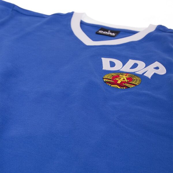 DDR WK 1974 Retro Voetbalshirt 6