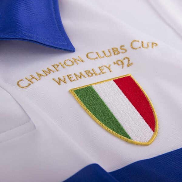 Sampdoria 1991 - 92 Uit Retro Voetbalshirt 2