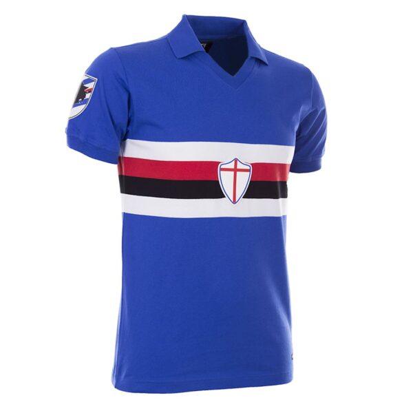Sampdoria 1981 - 82 Retro Voetbalshirt 2