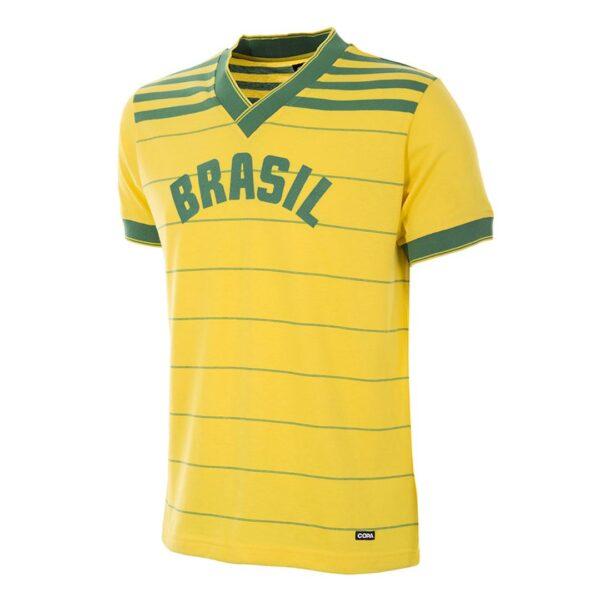 Brazilië 1984 Retro Voetbalshirt