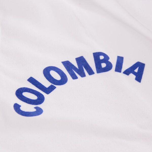 Colombia 1973 Retro Voetbalshirt 2