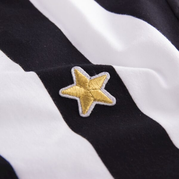 Juventus 1976 - 77 Coppa UEFA Retro Voetbalshirt 2