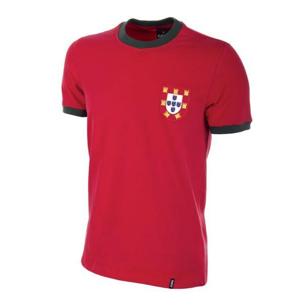 Portugal 1960's Retro Voetbalshirt