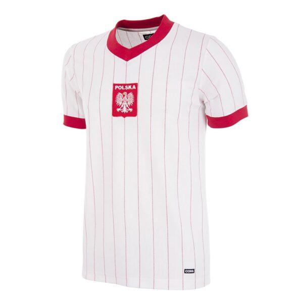 Polen 1982 Retro Voetbalshirt