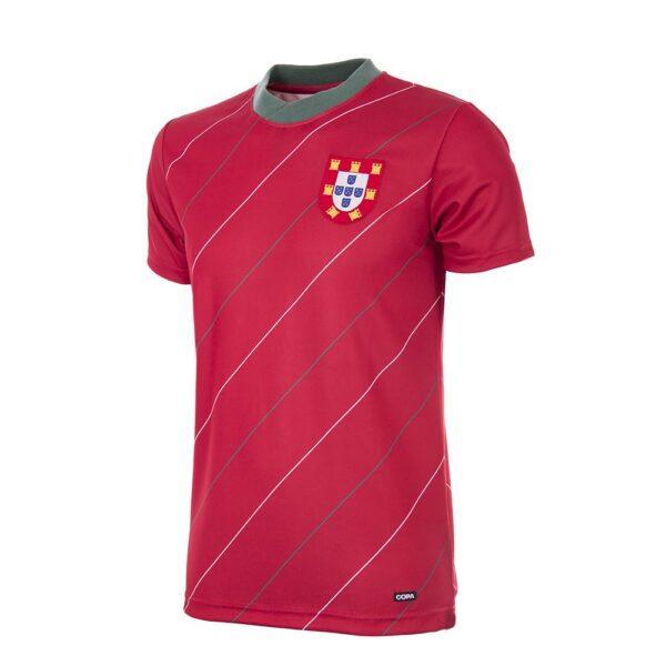 Portugal 1984 Retro Voetbalshirt