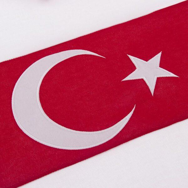 Turkije 1979 Retro Voetbalshirt 2