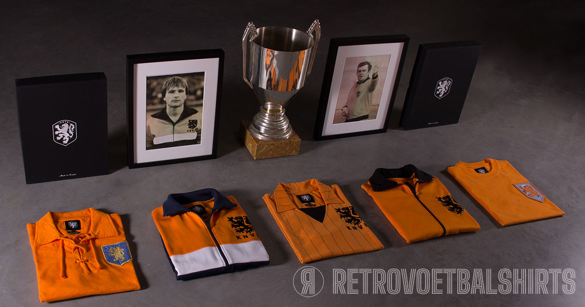 Nederlands elftal retro collectie
