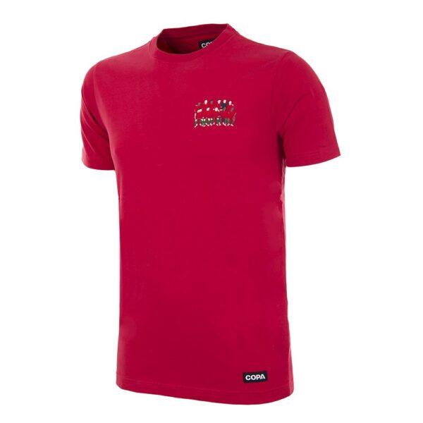 Portugal 2016 Europees Kampioen Geborduurd T-Shirt