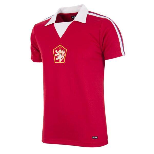 Tsjechoslowakije 1976 Retro Voetbalshirt