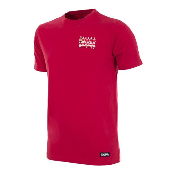 Denemarken 1992 Europees Kampioen Geborduurd T-Shirt