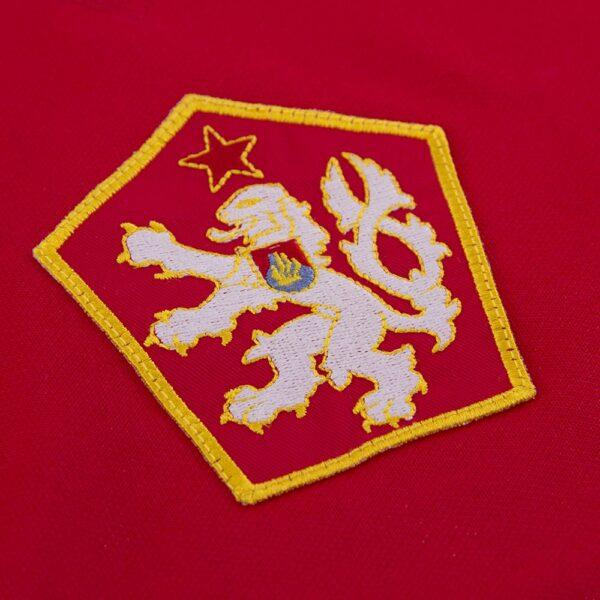 Tsjechoslowakije 1976 Retro Voetbalshirt 2