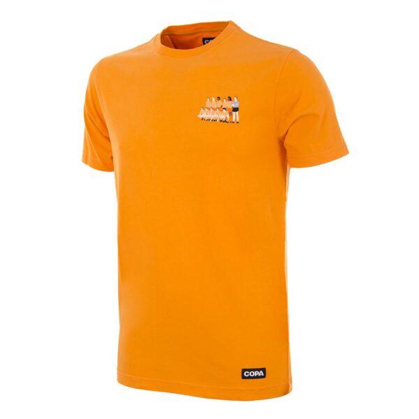 Holland 1988 Europees Kampioen Geborduurd T-Shirt