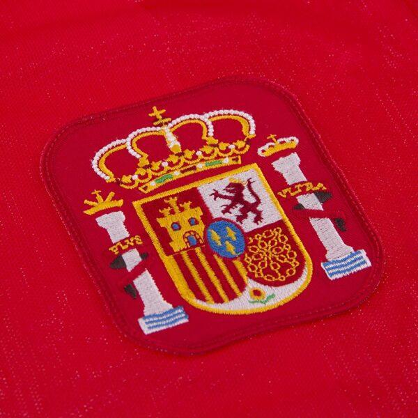 Spanje 1984 Retro Voetbalshirt 2