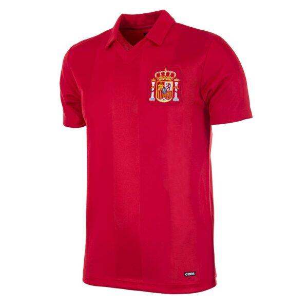 Spanje 1984 Retro Voetbalshirt