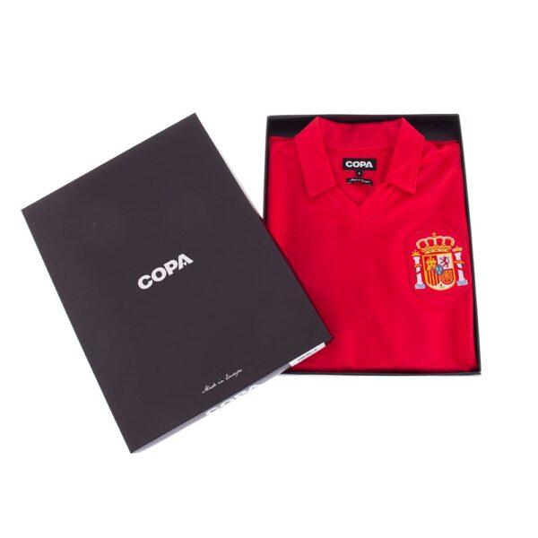 Spanje 1984 Retro Voetbalshirt 8