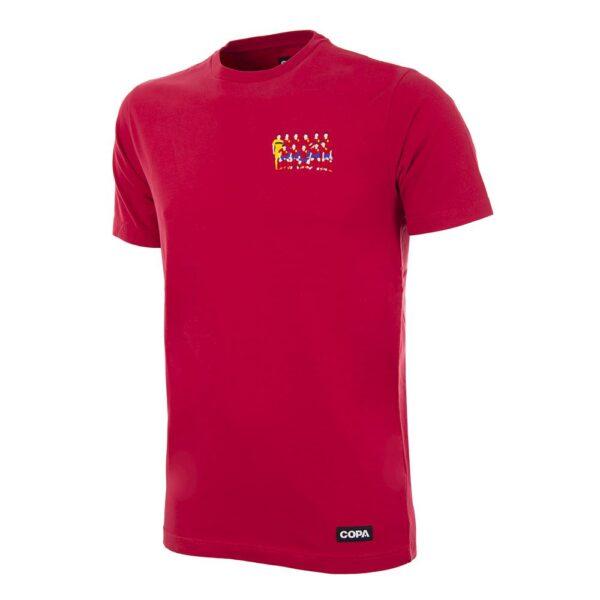 Spanje 2004 Europees Kampioen Geborduurd T-Shirt