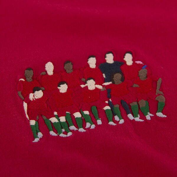 Portugal 2016 Europees Kampioen Geborduurd T-Shirt 2