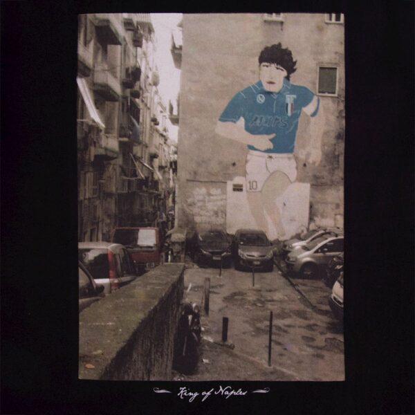 King of Naples T-Shirt Zwart 2