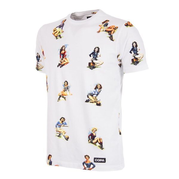 Calcio Donna T-Shirt Wit