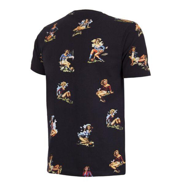 Calcio Donna T-Shirt Zwart 2