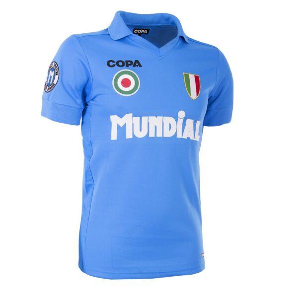 MUNDIAL Napoli x COPA Voetbalshirt Blauw 2