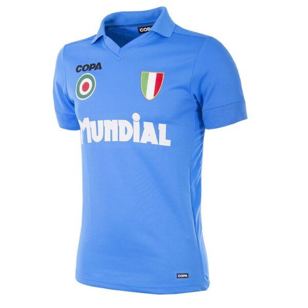 MUNDIAL Napoli x COPA Voetbalshirt Blauw